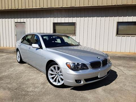 2008 BMW 7 Series for sale at M & A Motors LLC in Marietta GA