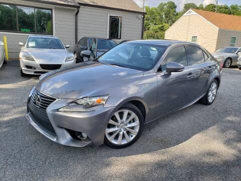 2014 Lexus IS 250 for sale at M & A Motors LLC in Marietta GA