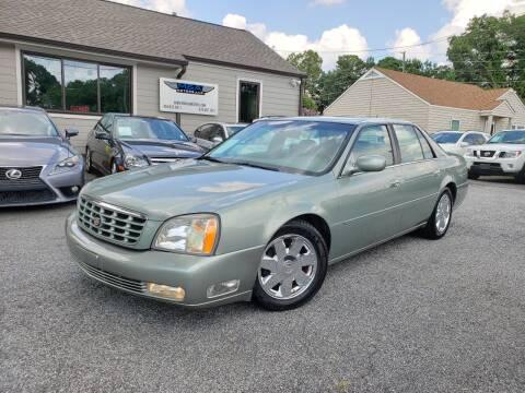 2005 Cadillac DeVille for sale at M & A Motors LLC in Marietta GA