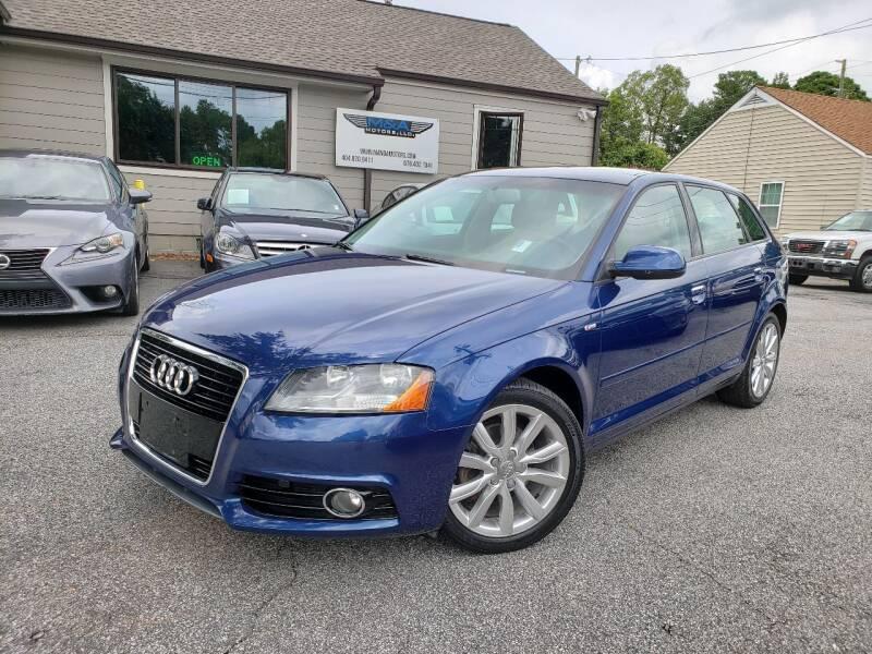 2011 Audi A3 for sale at M & A Motors LLC in Marietta GA