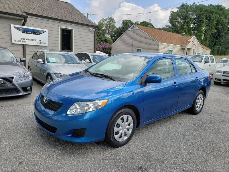 2010 Toyota Corolla for sale at M & A Motors LLC in Marietta GA