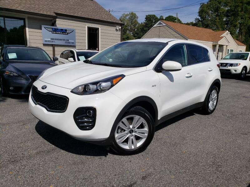 2018 Kia Sportage for sale at M & A Motors LLC in Marietta GA