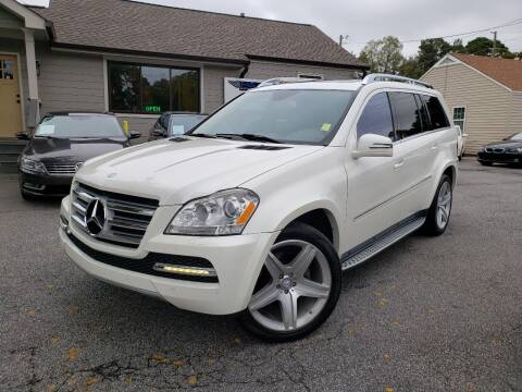 2012 Mercedes-Benz GL-Class for sale at M & A Motors LLC in Marietta GA