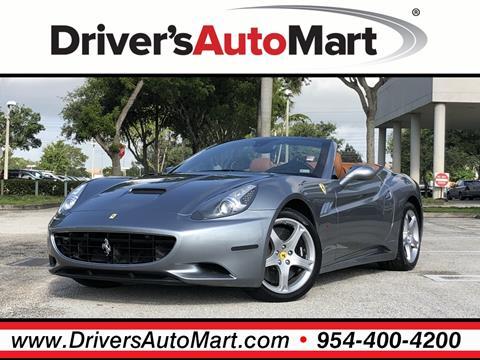 2010 Ferrari California for sale in Davie, FL