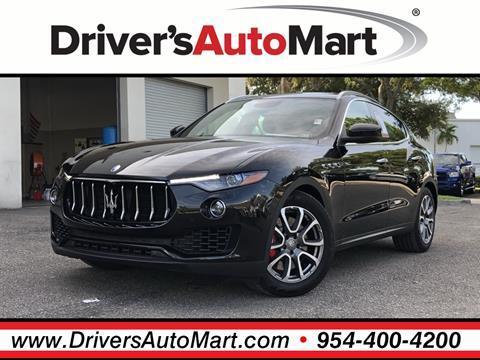 2018 Maserati Levante for sale in Davie, FL