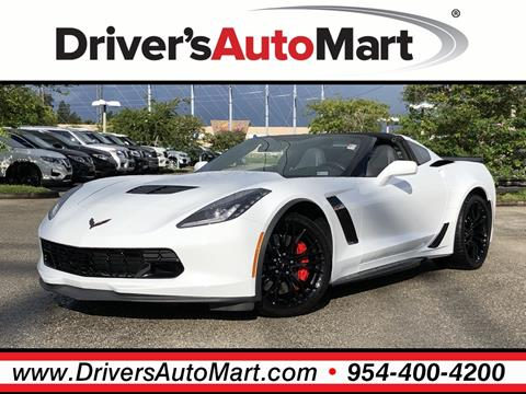 Corvette For Sale >> 2017 Chevrolet Corvette For Sale In Davie Fl