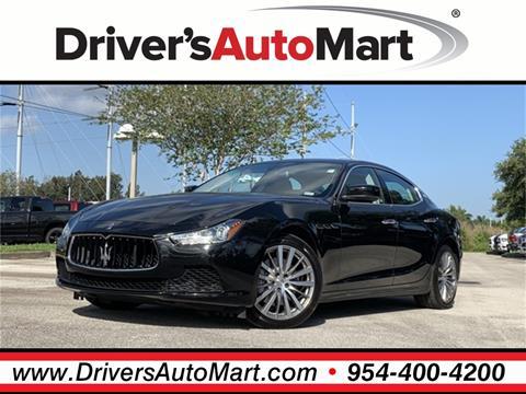 Maserati Ghibli Price >> 2016 Maserati Ghibli For Sale In Davie Fl