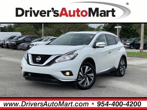 2018 Nissan Murano for sale in Davie, FL
