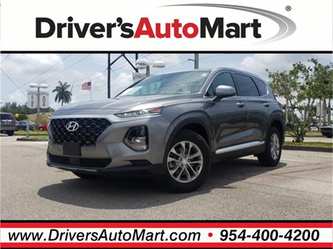 2019 Hyundai Santa Fe for sale in Davie, FL