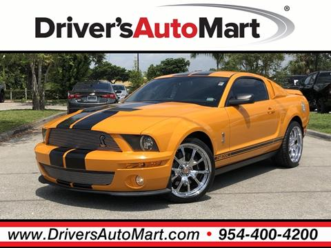 2008 Ford Shelby GT500 for sale in Davie, FL