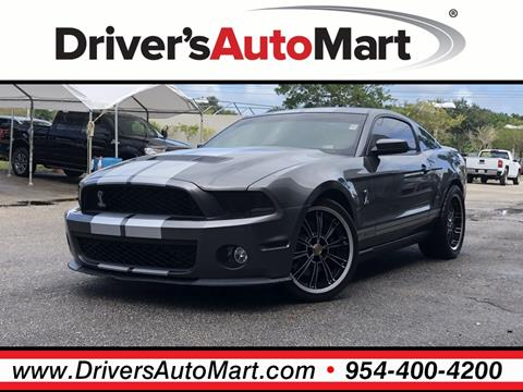 2010 Ford Shelby GT500 for sale in Davie, FL