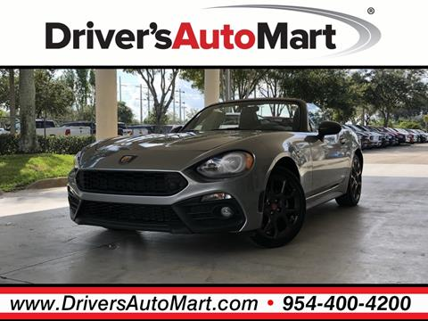 2017 FIAT 124 Spider for sale in Davie, FL