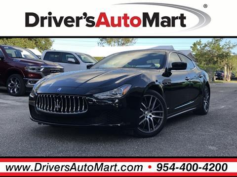 2016 Maserati Ghibli for sale in Davie, FL