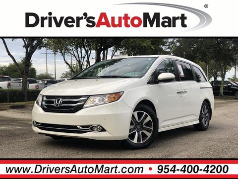 2014 Honda Odyssey for sale in Davie, FL