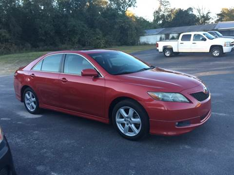 2007 Toyota Camry for sale at Mac's Auto Sales in Camden SC