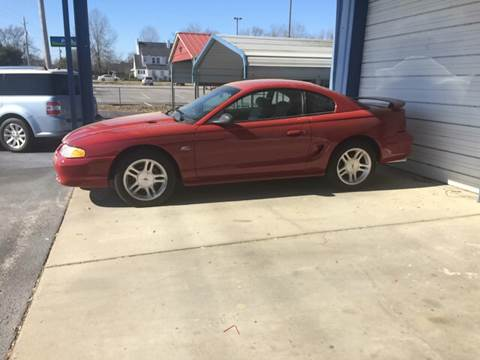 1995 Ford Mustang for sale at Mac's Auto Sales in Camden SC