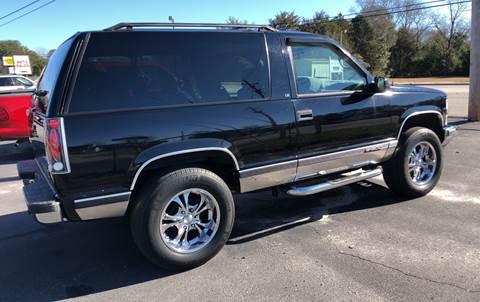 1995 Chevrolet Tahoe For Sale In Camden Sc