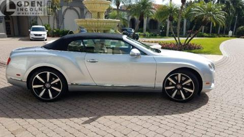 2013 Bentley Continental GTC V8 for sale in Westmont, IL
