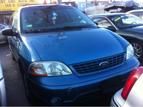2002 Ford Windstar for sale at WEST END AUTO INC in Chicago IL