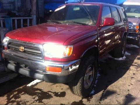 1997 Toyota 4Runner for sale at WEST END AUTO INC in Chicago IL