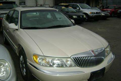 1999 Lincoln Continental for sale at WEST END AUTO INC in Chicago IL