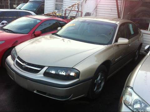 2000 Chevrolet Impala for sale at WEST END AUTO INC in Chicago IL