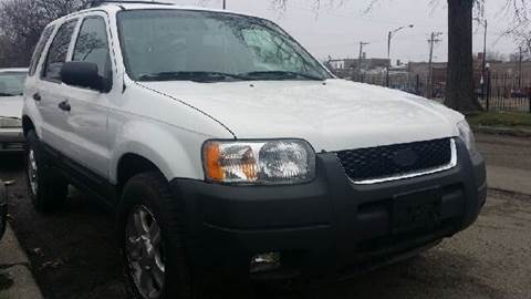 2003 Ford Escape for sale at WEST END AUTO INC in Chicago IL