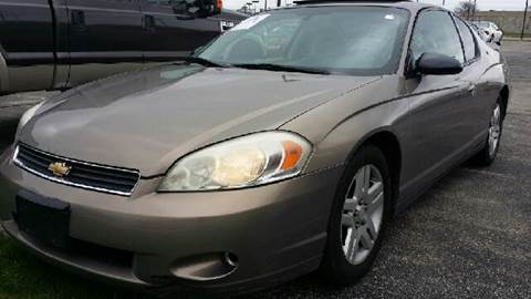 2006 Chevrolet Monte Carlo for sale at WEST END AUTO INC in Chicago IL
