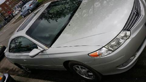 2002 Toyota Camry Solara for sale at WEST END AUTO INC in Chicago IL