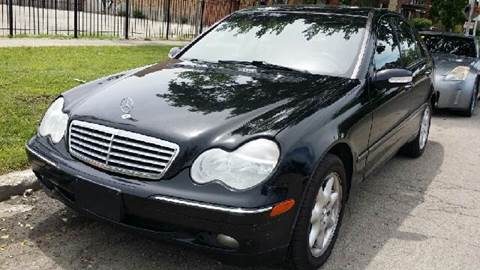 2003 Mercedes-Benz C-Class for sale at WEST END AUTO INC in Chicago IL