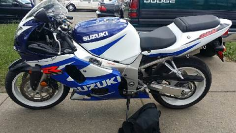 2001 Suzuki GSX-R600 for sale at WEST END AUTO INC in Chicago IL
