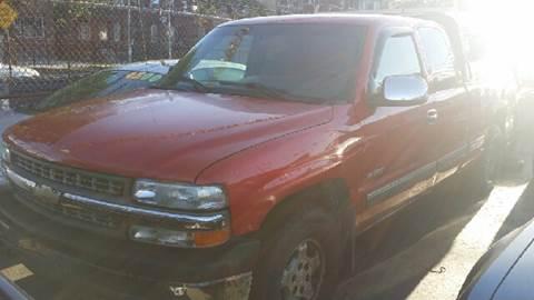 2000 Chevrolet Silverado 1500 for sale at WEST END AUTO INC in Chicago IL