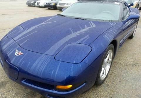 2004 Chevrolet Corvette for sale at WEST END AUTO INC in Chicago IL