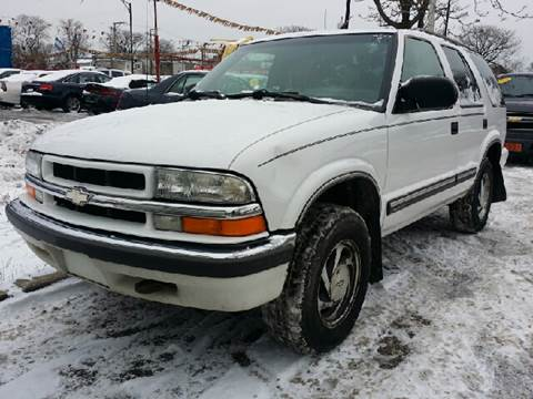 2000 Chevrolet Blazer for sale at WEST END AUTO INC in Chicago IL