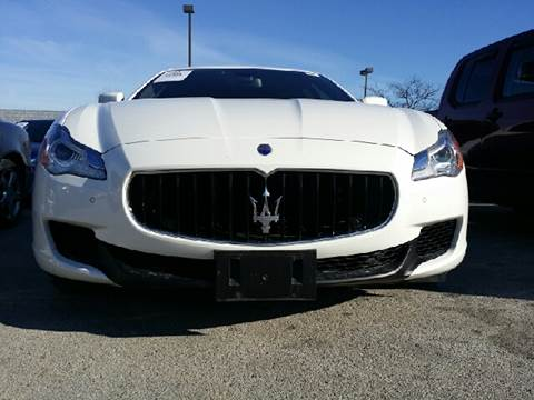 2014 Maserati Quattroporte for sale at WEST END AUTO INC in Chicago IL
