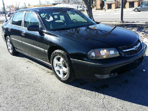 2003 Chevrolet Impala for sale at WEST END AUTO INC in Chicago IL