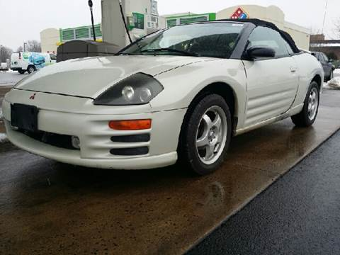 2001 Mitsubishi Eclipse Spyder for sale at WEST END AUTO INC in Chicago IL