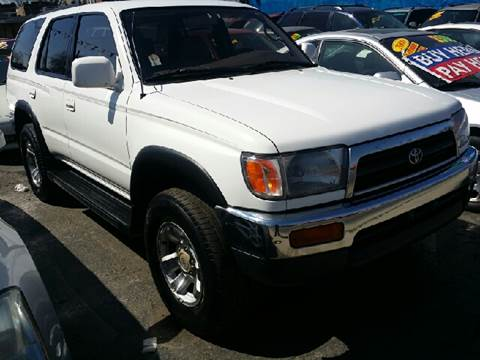 1996 Toyota 4Runner for sale at WEST END AUTO INC in Chicago IL