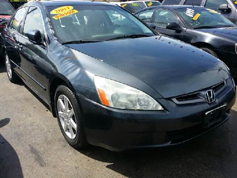 2004 Honda Accord for sale at WEST END AUTO INC in Chicago IL