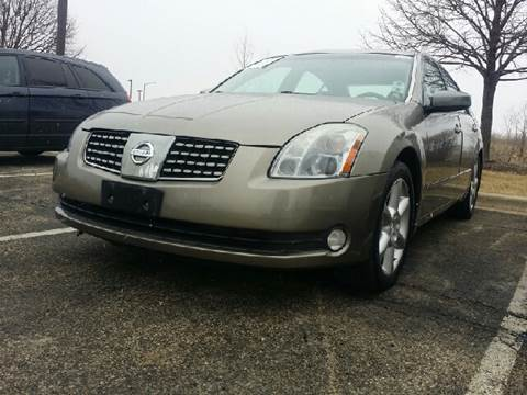 2004 Nissan Maxima for sale at WEST END AUTO INC in Chicago IL