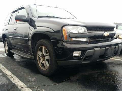 2005 Chevrolet TrailBlazer for sale at WEST END AUTO INC in Chicago IL