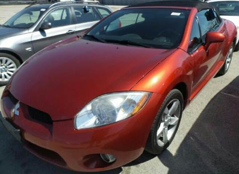 2008 Mitsubishi Eclipse Spyder for sale at WEST END AUTO INC in Chicago IL