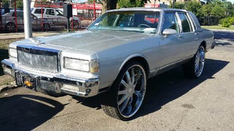 1987 Chevrolet Caprice for sale at WEST END AUTO INC in Chicago IL