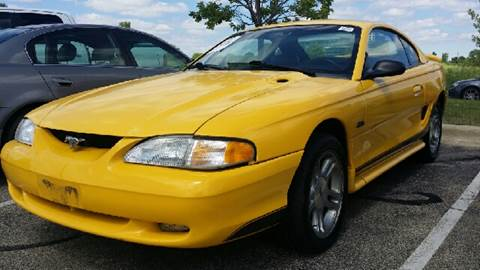 1998 Ford Mustang for sale at WEST END AUTO INC in Chicago IL