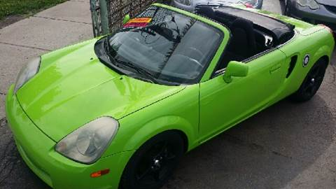 2002 Toyota MR2 Spyder for sale at WEST END AUTO INC in Chicago IL