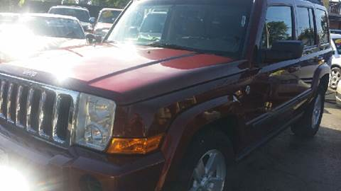 2007 Jeep Commander for sale at WEST END AUTO INC in Chicago IL