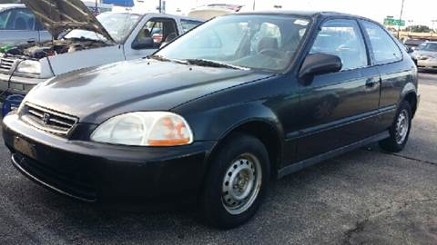 1996 Honda Civic for sale at WEST END AUTO INC in Chicago IL