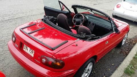 1990 Mazda MX-5 Miata for sale at WEST END AUTO INC in Chicago IL