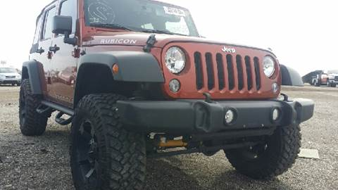 2014 Jeep Wrangler Unlimited for sale at WEST END AUTO INC in Chicago IL