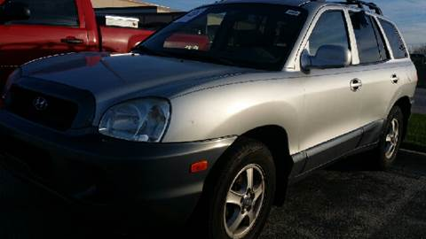2004 Hyundai Santa Fe for sale at WEST END AUTO INC in Chicago IL